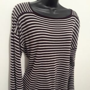 Eileen Fisher women's bandeau neck top sweater new